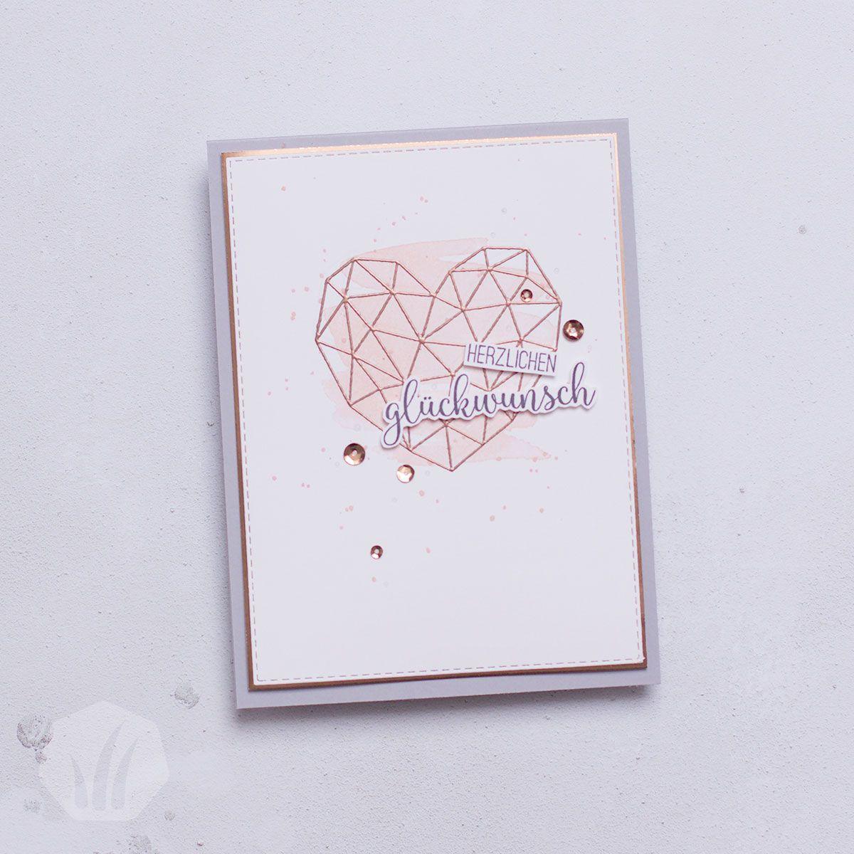Modern Heart - Kunst mit Herz, MSA #stampinup!cards