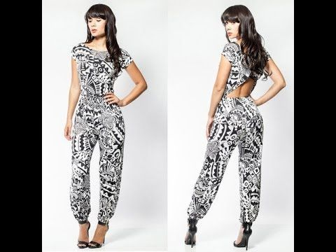 b9feb61ec1e Really cute! HOW TO MAKE A JUMPSUIT WITH STEP-BY-STEP DIRECTIONS ...