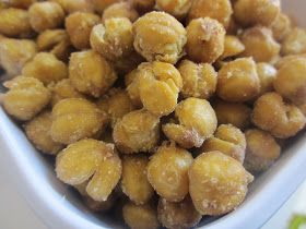 Chef Tess Bakeresse: Healthy Chick-Nuts (Homemade Chickpea baked snacks)