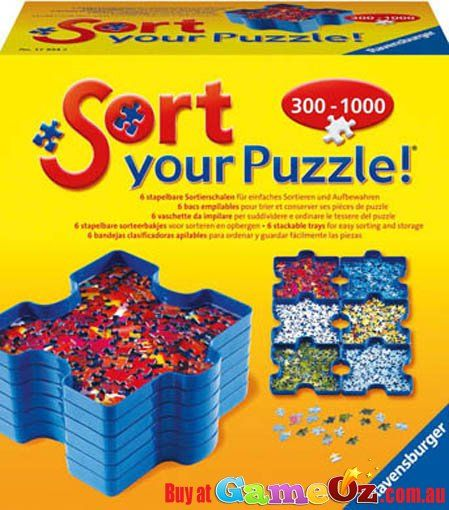 Sturdy and Easy Use Organize Ravensburger Sort and Go Jigsaw Puzzle Accessory