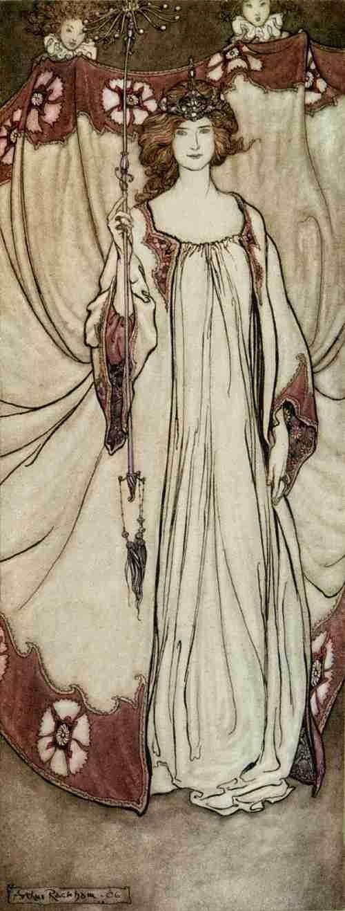 Arthur Rackham Fairy Illustrations
