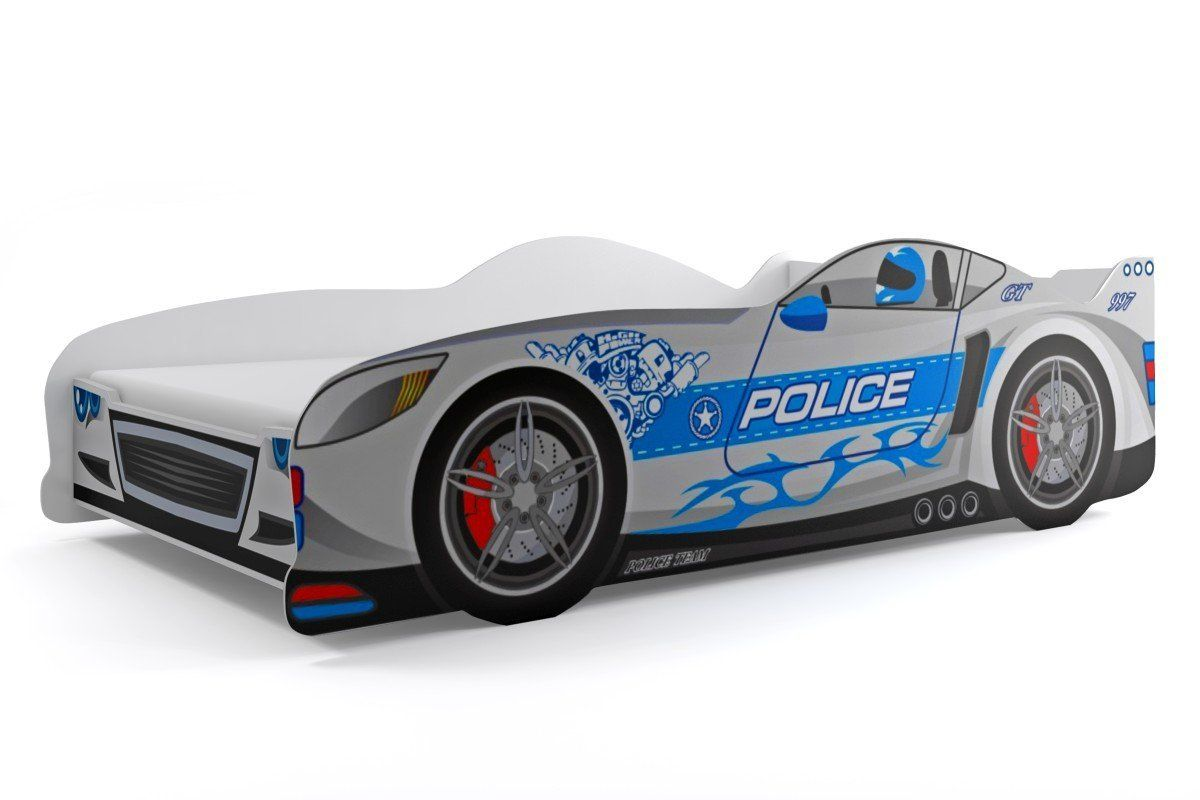 kinderbett polizeiauto