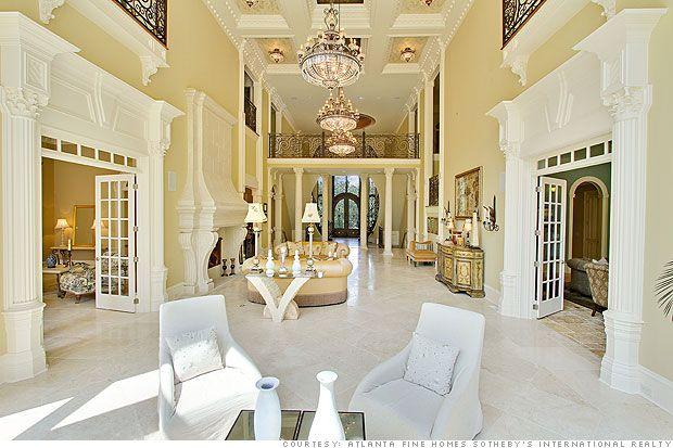 Multi Million Dollar Foreclosures Dream House Mansion Interior
