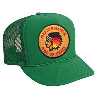Tribe of peace vintage trucker hat  5dcde90550e