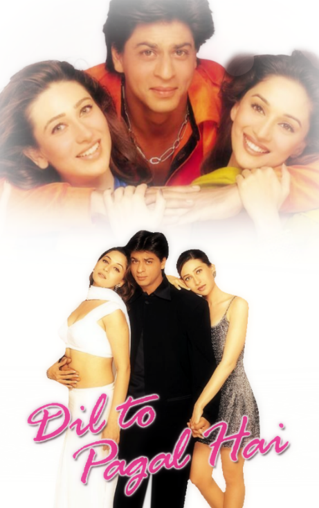 Dil To Pagal Hai Poster Bollywood Movies Online Hindi Movies Watch Hindi Movies Online