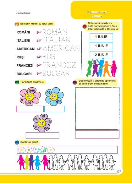 Clasa Pregatitoare Comunicare In Limba Romana Clasa Pregatitoare School Text Bullet Journal