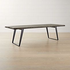 Yukon Grey Dining Table Crate And Barrel Grey Dining