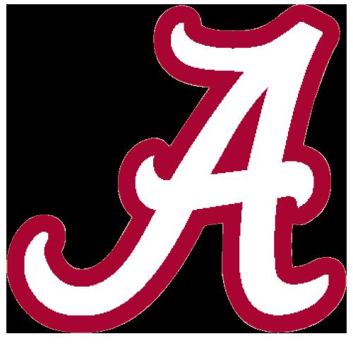 Logo University Of Alabama Crimson Tide White A Red Outline Alabamacrimsontide Tide Logo Alabama Crimson Tide Logo Alabama Football Roll Tide