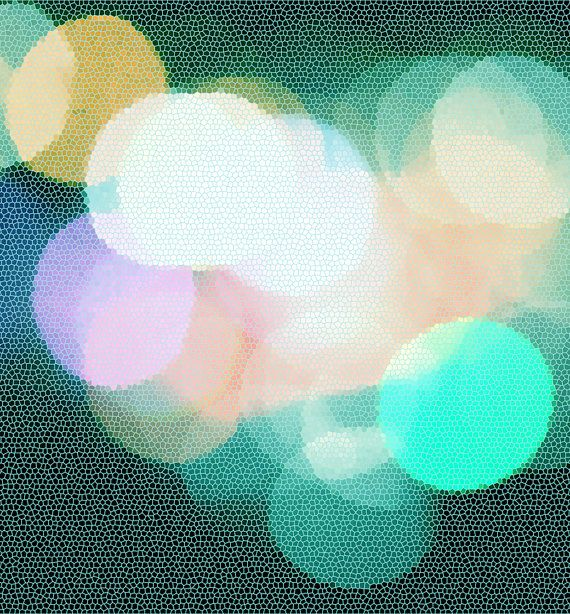 Digital download Abstract lights bokeh photo