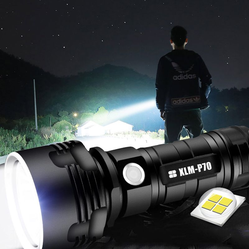 UK Stock LED Torch Flashlight Police Military Bright High Power Waterproof