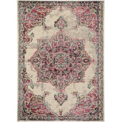 benuta Teppich Casa Beige/Pink 160x230 cm - Vintage Teppich im Used-Look benuta #antiquefarmhouse