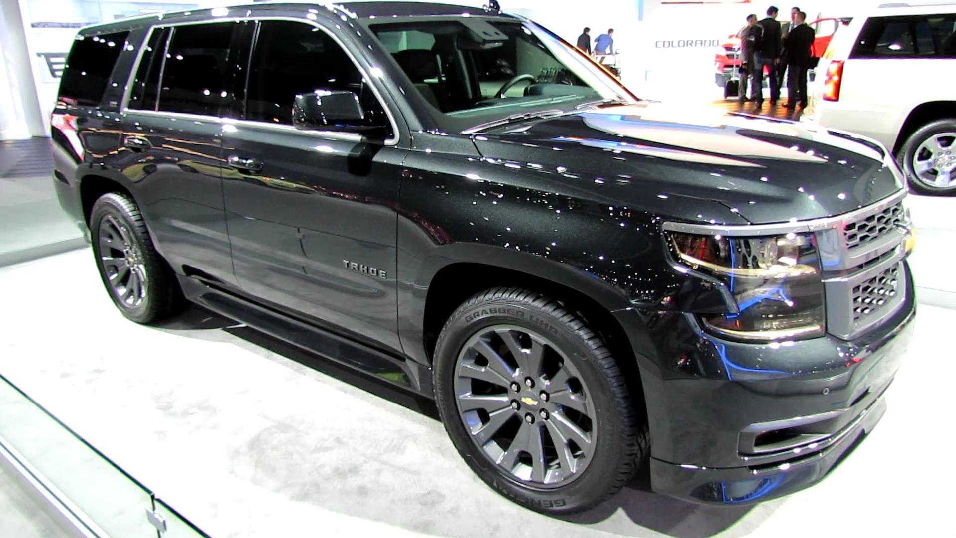2015 Chevrolet Tahoe LTZ Black Edition Exterior Walkaround 2013