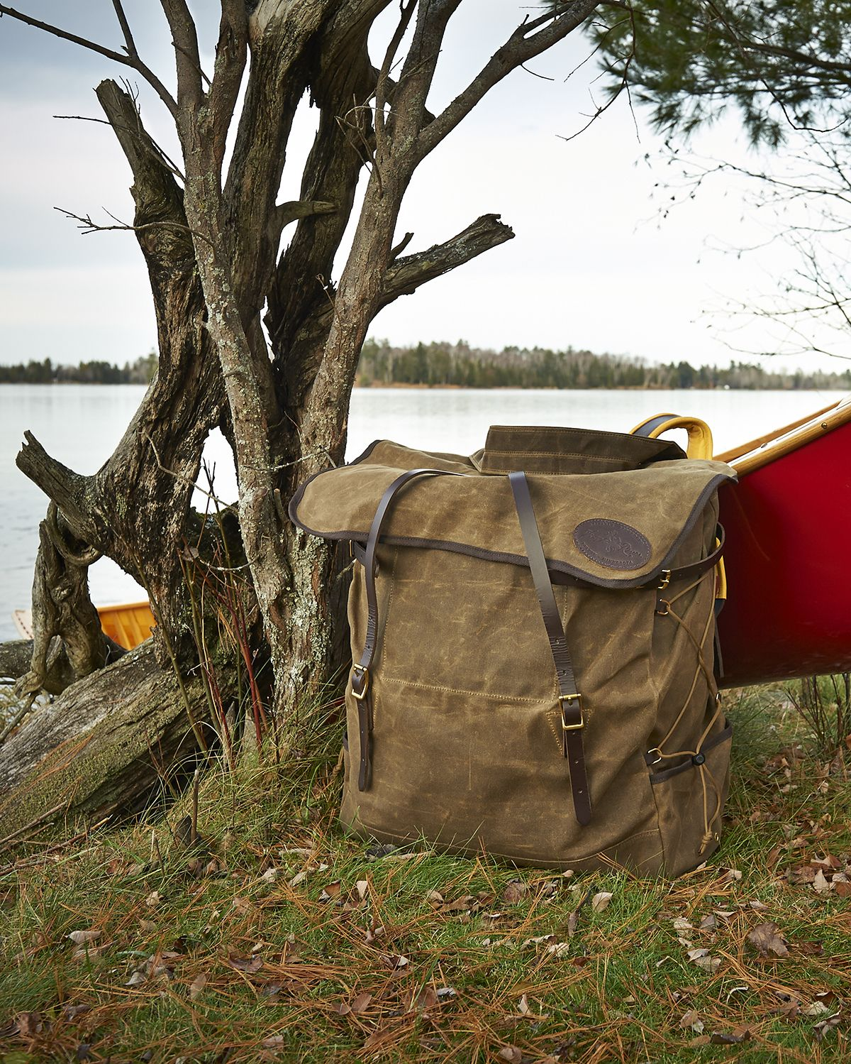 frost river grand portage pack great waxed canvas canoe pack