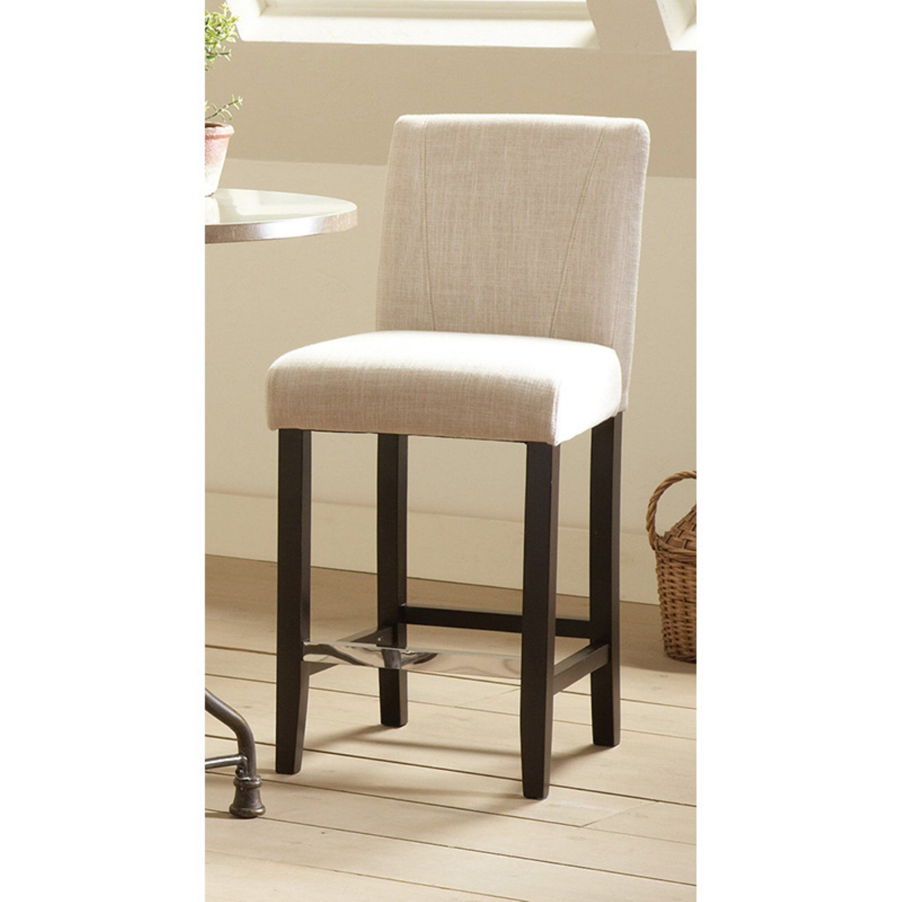 Coaster Furniture 39 In. Upholstered Parson Counter Height Stool   Set Of 2    COA3135