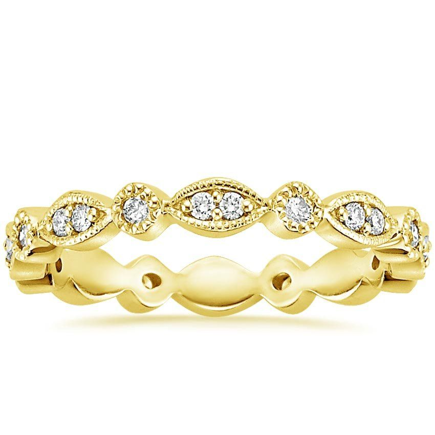 638f3903f71 18K Yellow Gold Tiara Eternity Diamond Ring (3 8 ct. tw.) from Brilliant  Earth
