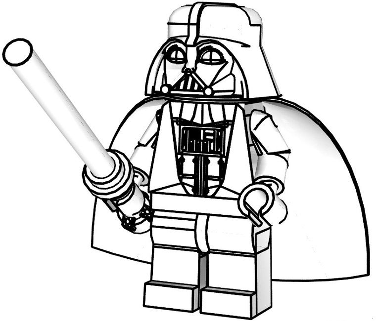 lego coloring pages to print star wars | Superhero | Pinterest ...