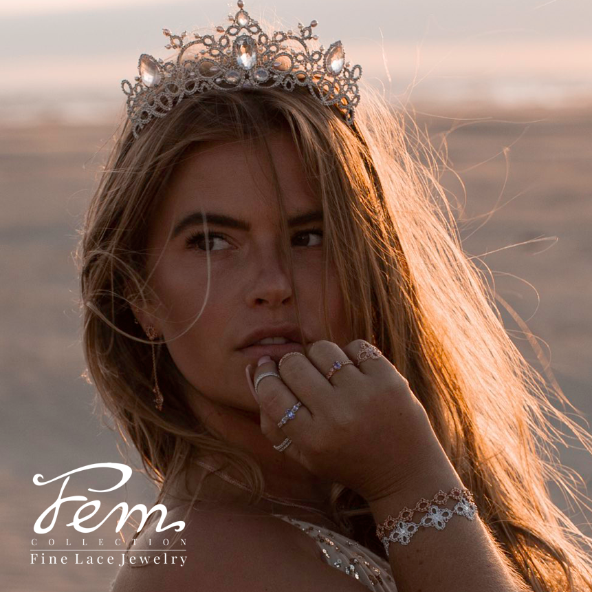 Pin Op Femcollection Fine Lace Jewelry Tatting Frivolite