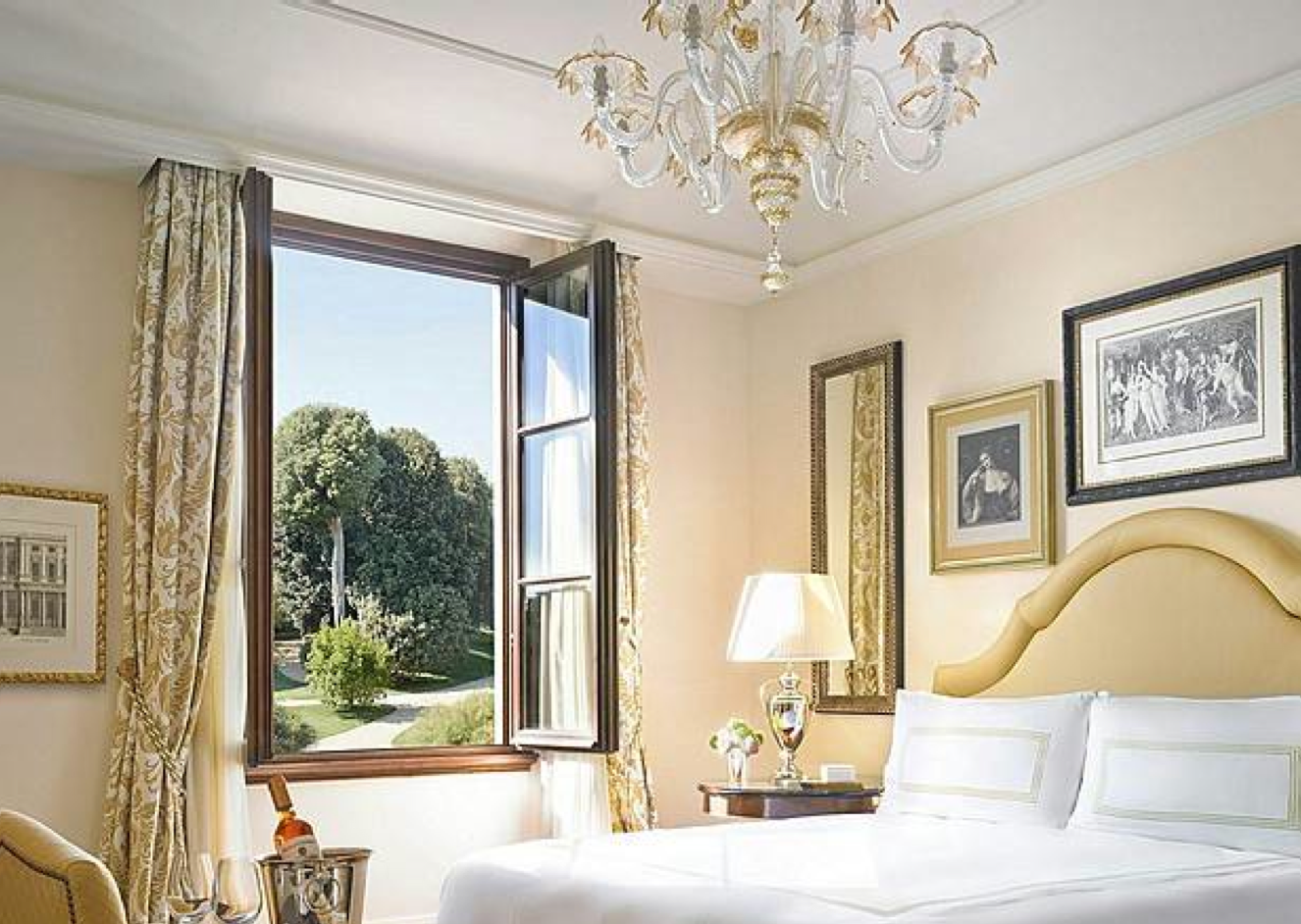 Four seasons hotel florence italy camera da letto for Design hotel firenze