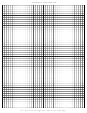 Engineering Paper Template  Graphing Paper Printable Template