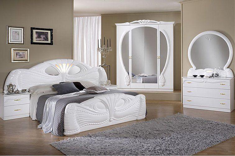 Pamela Schlafzimmer 4-türig Hane Möbel - Möbel Online Kaufen For - Italian Bedroom Sets