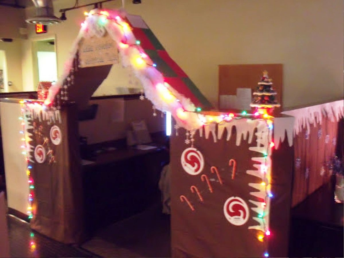 Cubicle Holiday Decorating Ideas Part - 34: Luxury Christmas Design For Office. Office Cubicle DecorationsCubicle  IdeasChristmas ...