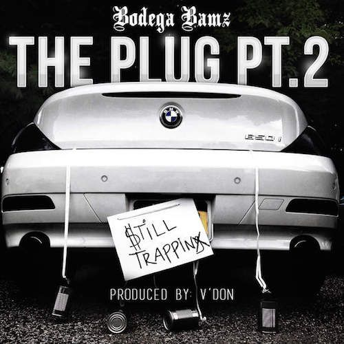 "Prev1 of 2Next Bodega Bamz drops off his new joint ""The Plug Pt 2″. Produced by V-Don. You can pick it up now on iTunes.His new project Sidewalk Exec will be released soon via 100 Keep It/Duck Down. Hit page 2 for the audio. Prev1 of 2Next"