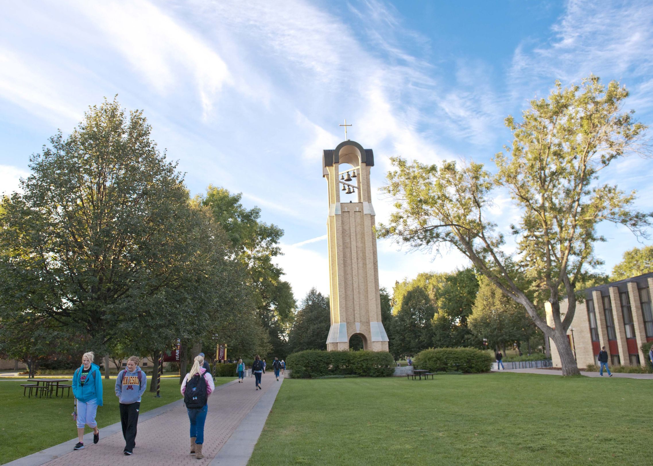 Pretty Shot Of Our Campanile Bell Tower At Concordia College In Moorhead Minn Cordmn Midwest Moorhead Minnesota