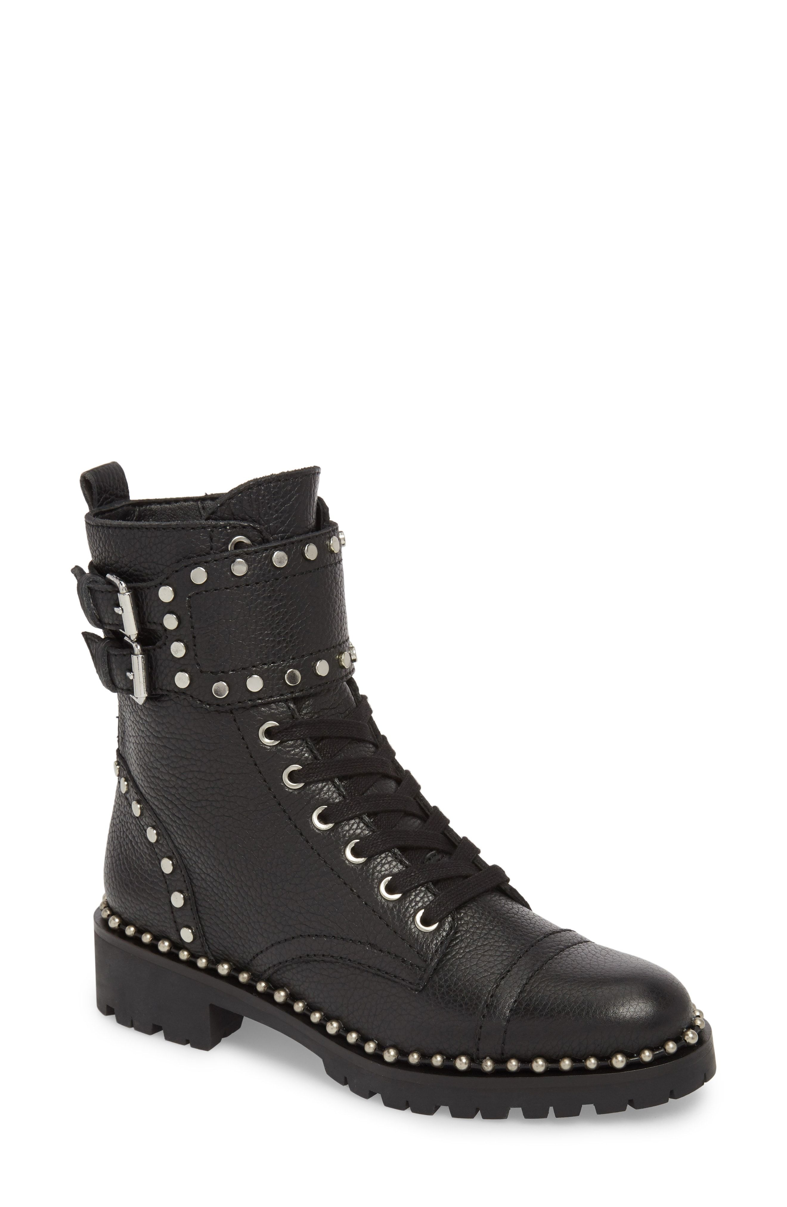 d18118d3f2b36 Sam Edelman Jennifer Studded Combat Boot available at  Nordstrom ...