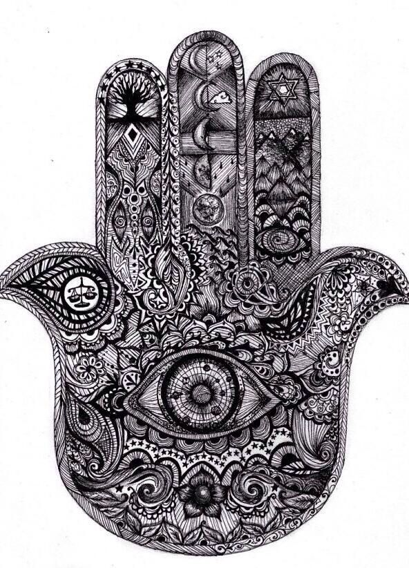 My Favorite Fatimas Hand Tattoos Pinterest Hamsa Hand And Tatto