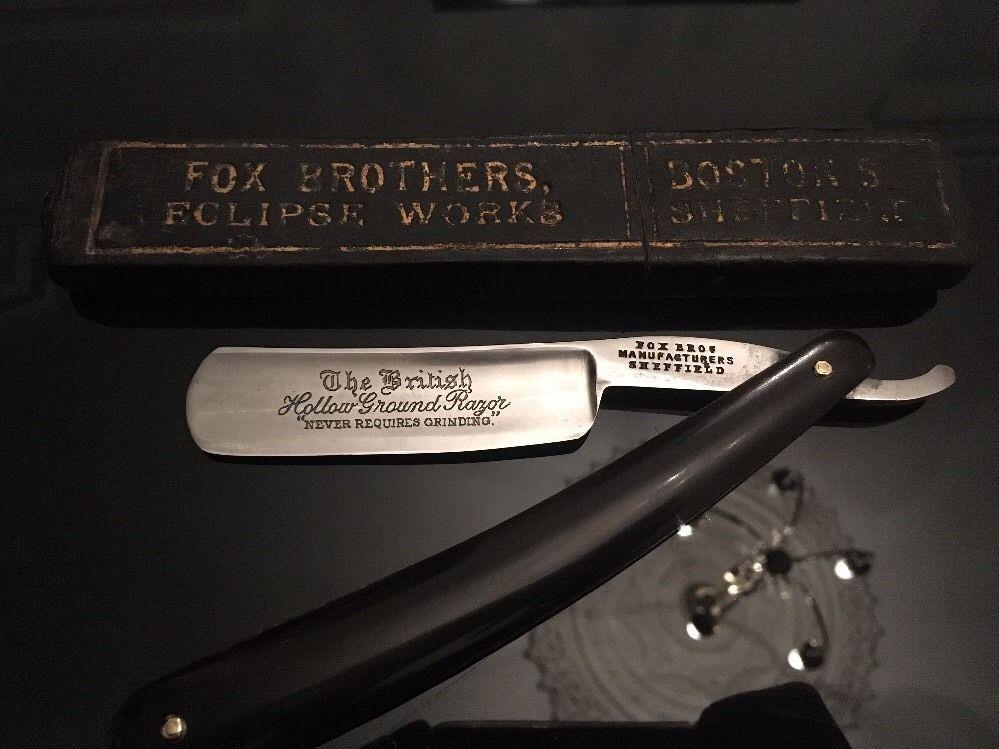 Fox Brothers Shave Ready Sheffield 6 8 Straight Cutthroat Razor Rasiermesser Straight Razor Razor Shaving
