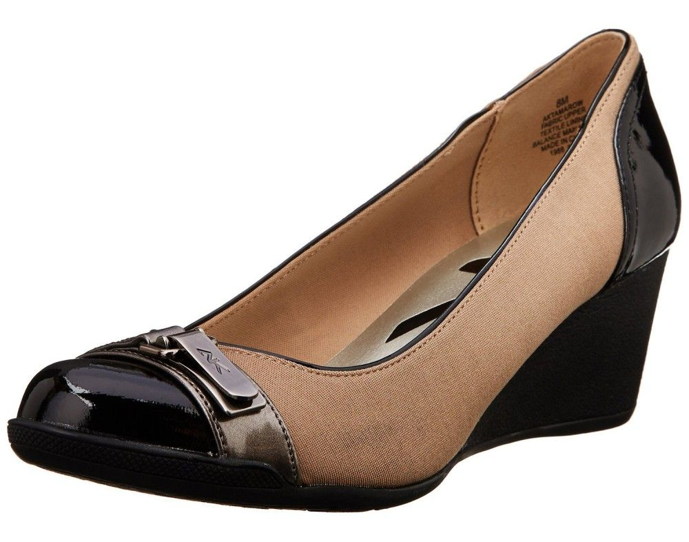 bd441be711 AK Anne Klein Sport Women's Tamarow Fabric Wedge Pump. Click Visit for more  info... #women #fashion #AnneKlein #shoes #pumps