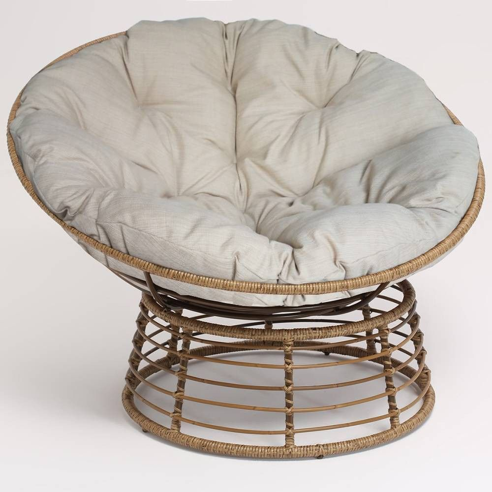 Admirable Wicker Papasan Chair Brown Opalhouse In 2019 Papasan Uwap Interior Chair Design Uwaporg
