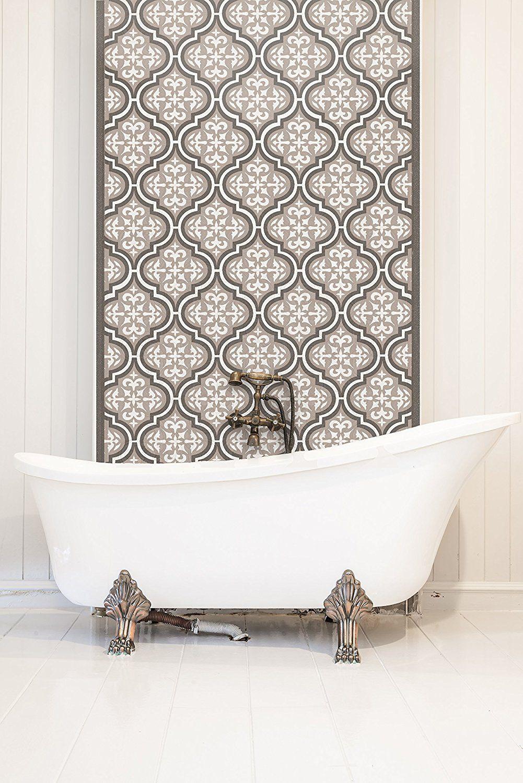 témara tile schablone – 3-lagige marokkanische möbel boden wand