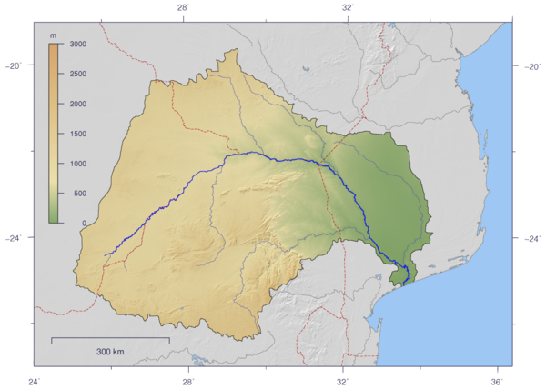 Limpopo River   Wikipedia, the free encyclopedia | Africa Physical