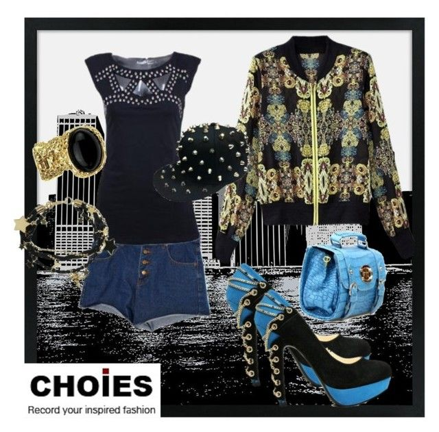 """""""Choies In The City..."""" by dayday1andonly ❤ liked on Polyvore"""
