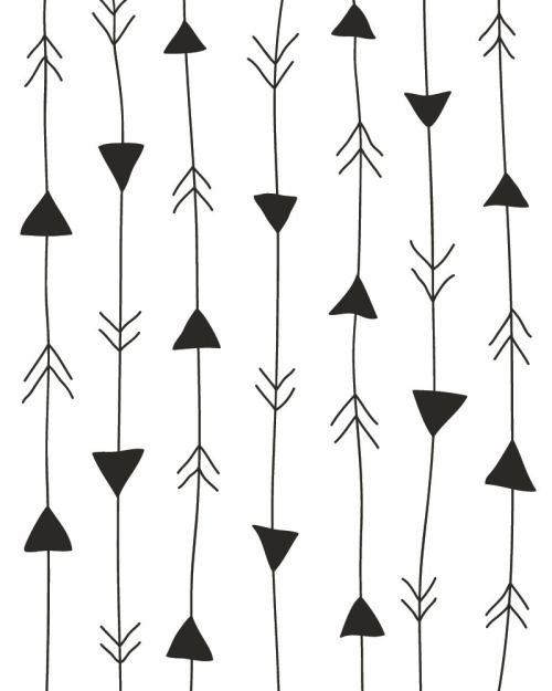 Arrows Print White And Black With Images Arrow Print