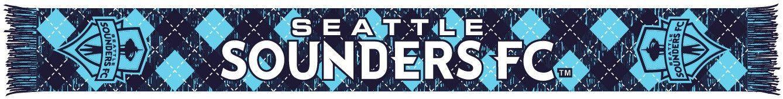SEATTLE SOUNDERS SCARF - Third Kit Argyle HD Knit