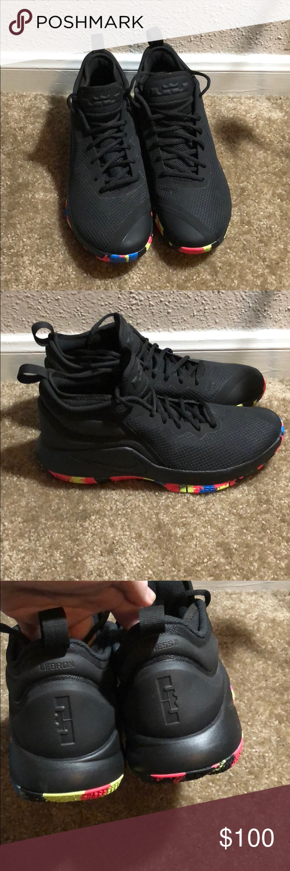 Lebron James Nike | Black nike shoes