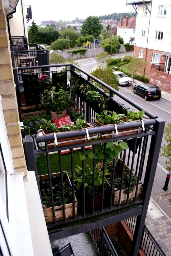 Make The Most Of Your Small Balcony – Top 15 Accessories | Pinterest ...