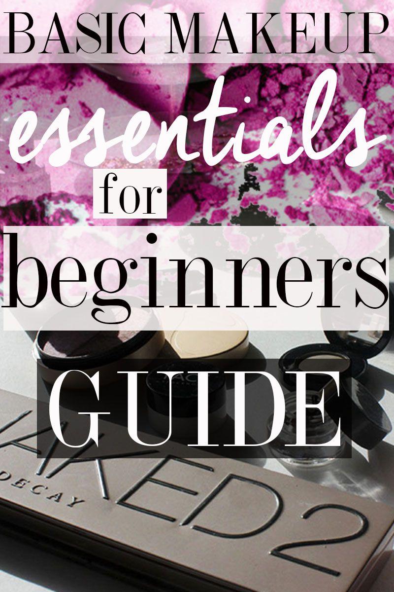 Basic Makeup Essentials for Beginners Makeup essentials