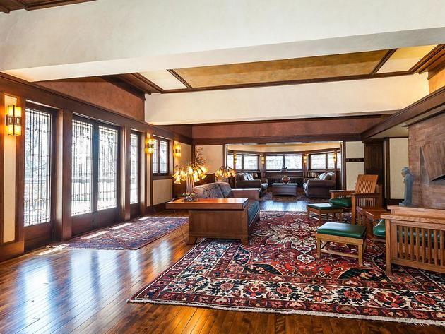 F B Henderson House Elmhurst Illinois 1901 Prairie Style Frank Lloyd Wright