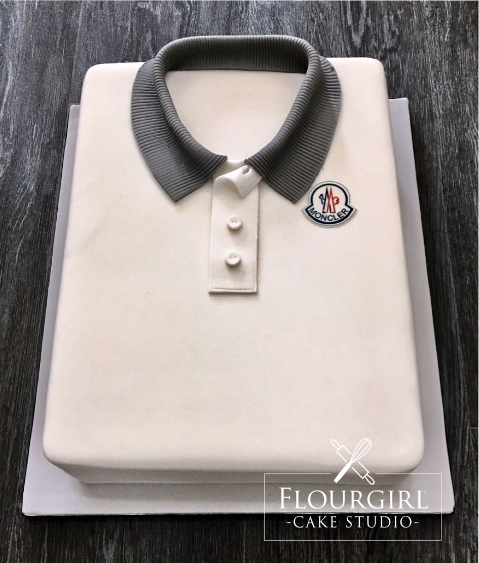 Moncler Shirt Cake Shirt Cake Boys Birthday Cake Cakes - Birthday cake shirt