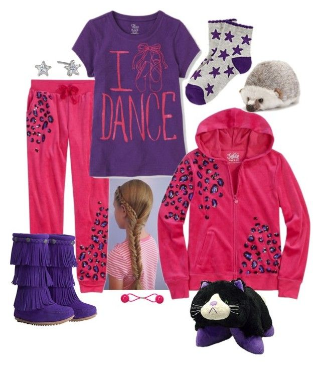 """I Heart dance"" by sterlingkitten ❤ liked on Polyvore featuring Betsey Johnson, Minnetonka and Nat & Jules"