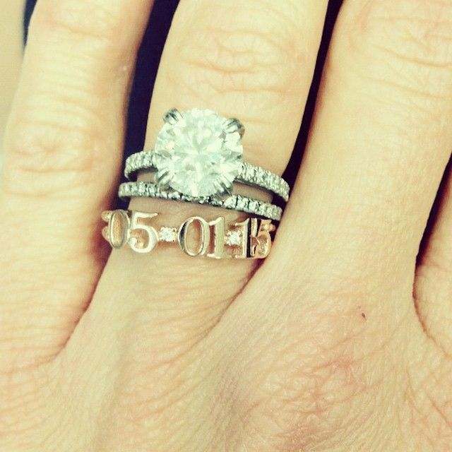 Naomi Gray Designs Date Rings! Best Anniversary/wedding