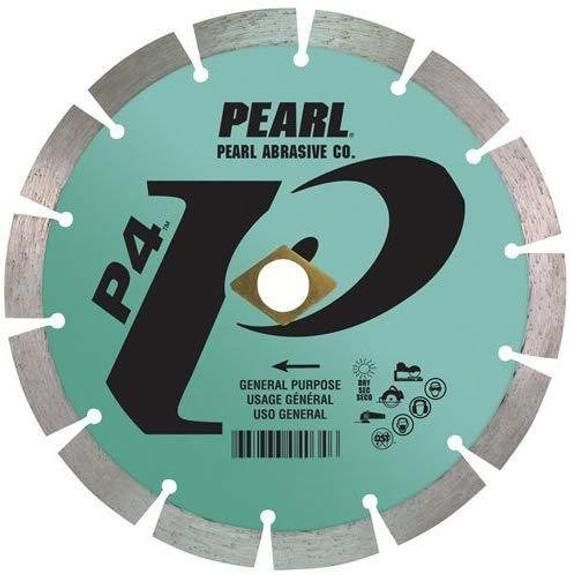 Pearl Abrasive P4 General Purpose Segmented Blade In 2020 Purpose Pearls