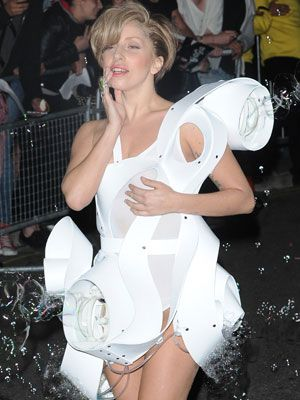 Opinion, actual, Lady gaga bubble dress
