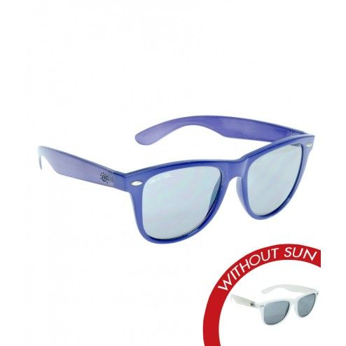 c39cf108e8ba Color-Changing Solize Sunglasses for  49.00- Keep An Eye On Summer - White  to Purple - Women s Polarized Sunglasses - Image With Sun