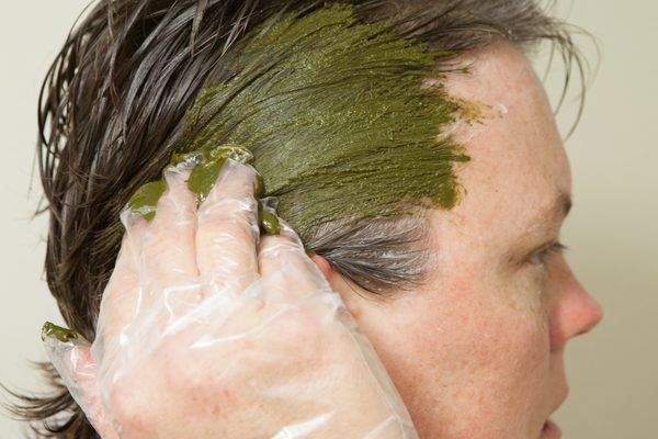 Henna is a natural hair dye that is safe and without chemicals. A ...