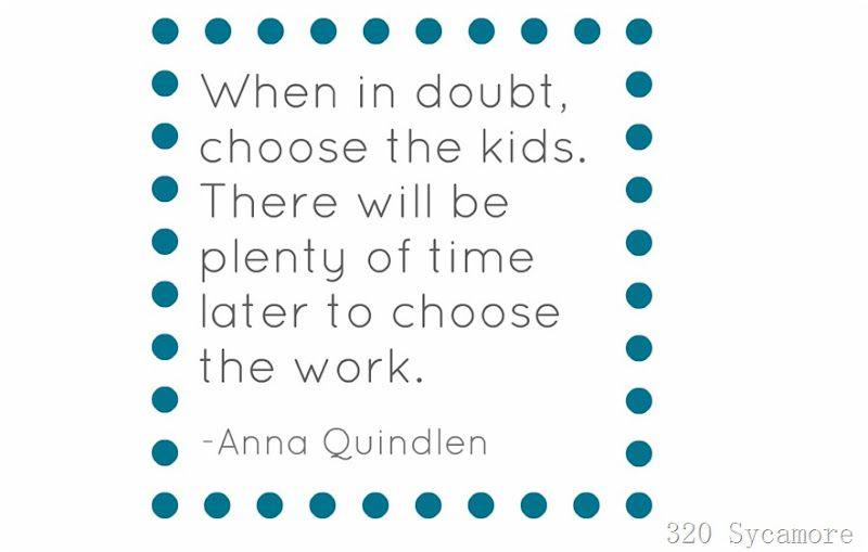 When in doubt....