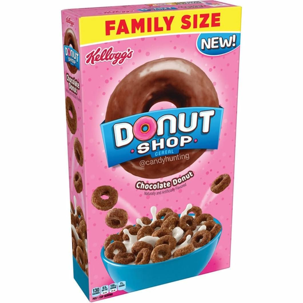 Donut Shop Chocolate Donut Cereal